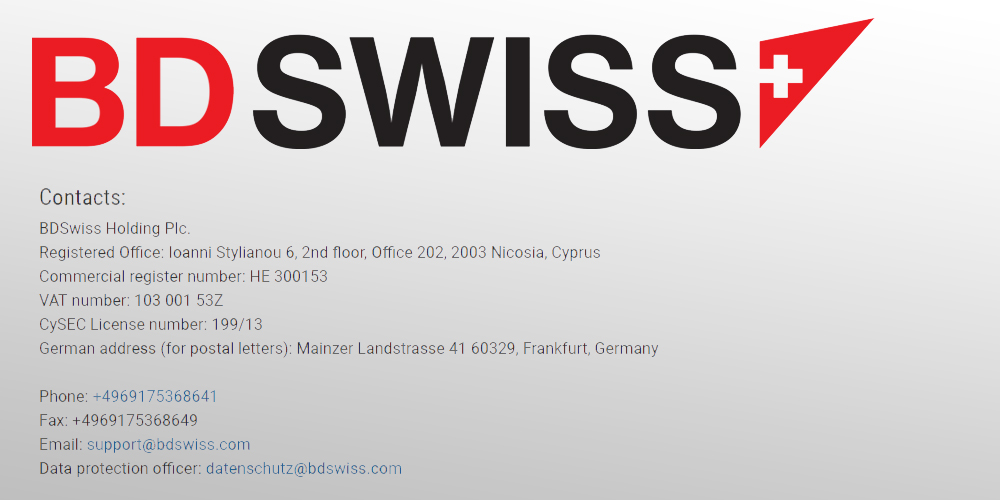 contact details bdswiss valid