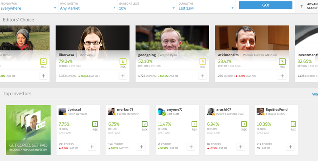 copy account of etoro trading platform