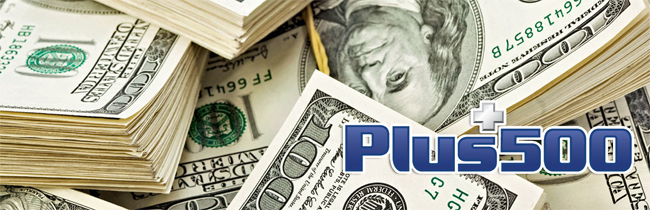 trading dollars with plus500