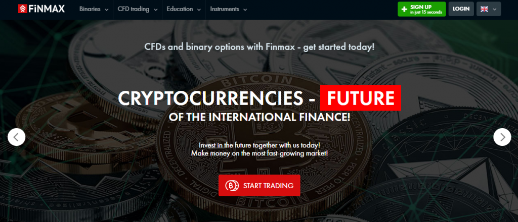 finmax binary options broker