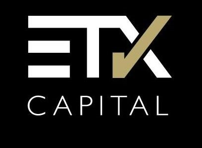 ETX capital black logo by ORN